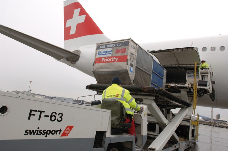 air cargo loading